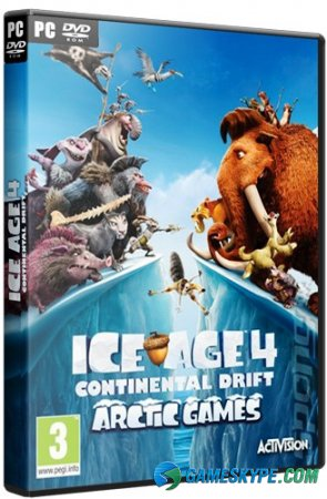 Ice Age: Continental Drift - Arctic Games (2012)