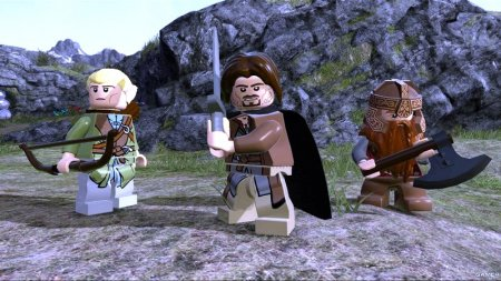 LEGO The Lord of the Rings (2012/Rus/Eng/Ger/Multi6/Repack)
